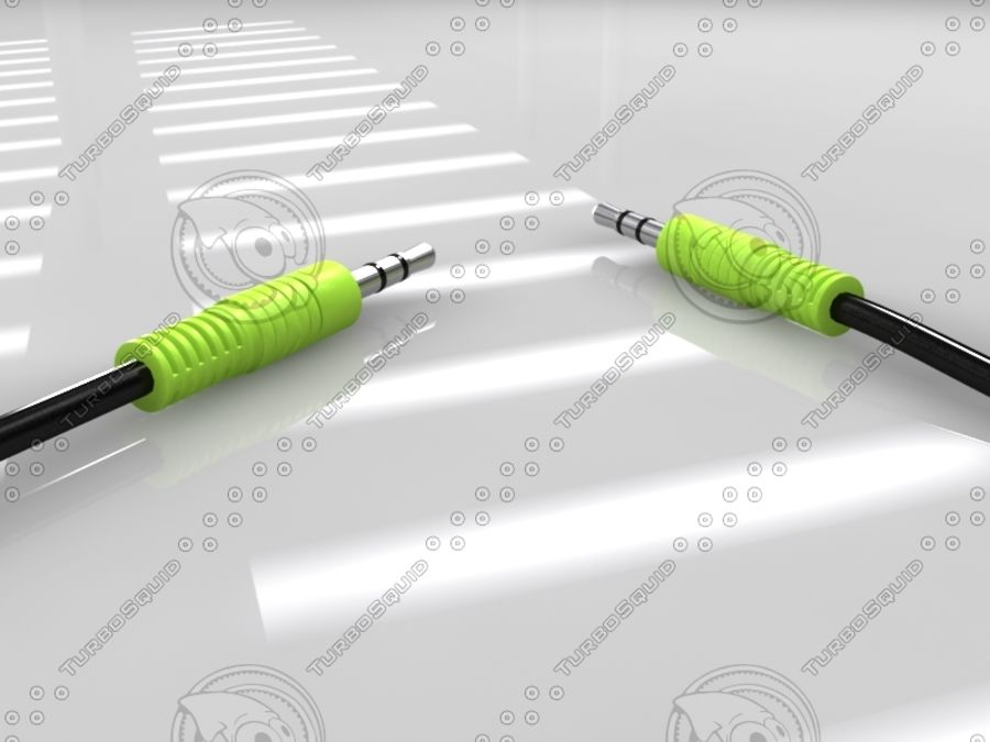 电缆 royalty-free 3d model - Preview no. 2