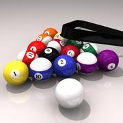 Billiard ball 3d model