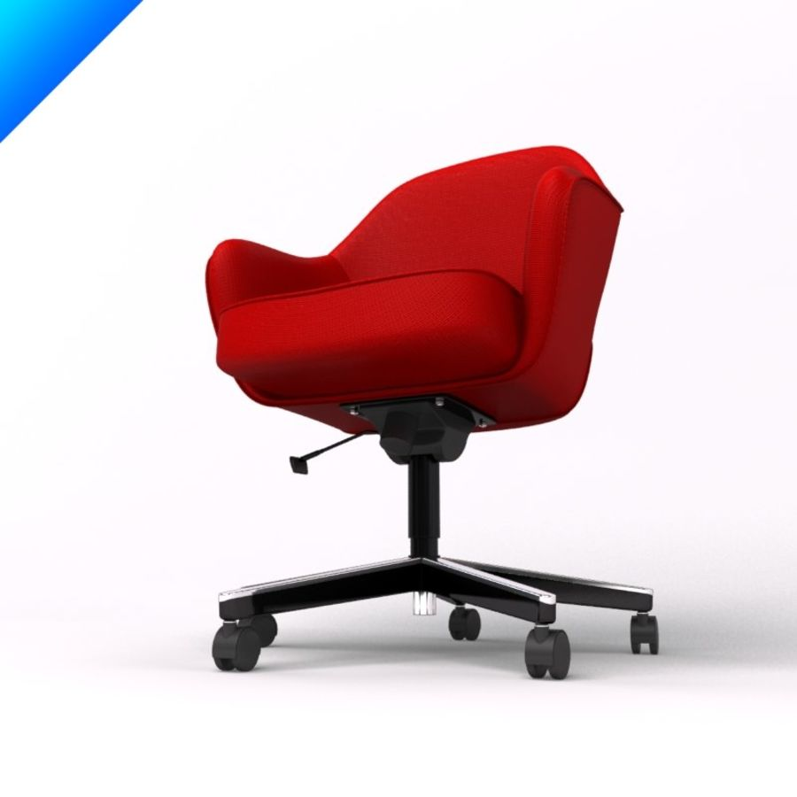 Knoll Saarinen Executive Conference Chair Royalty Free 3d Model Preview No 6