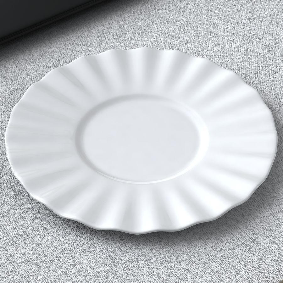 PLATES COLLECTION royalty-free 3d model - Preview no. 8