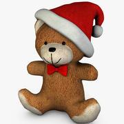 Christmas Bear 3d model