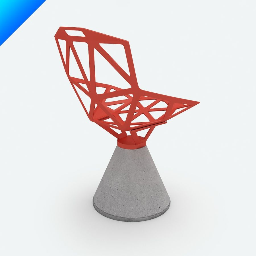 Konstantin Grcic Chair One Concrete Swivel Base 3D Model $25 - .max ...