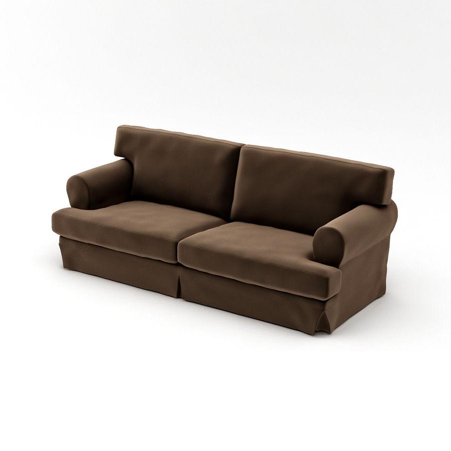 IKEA EKESKOG Sofa Royalty Free 3d Model   Preview No. 6