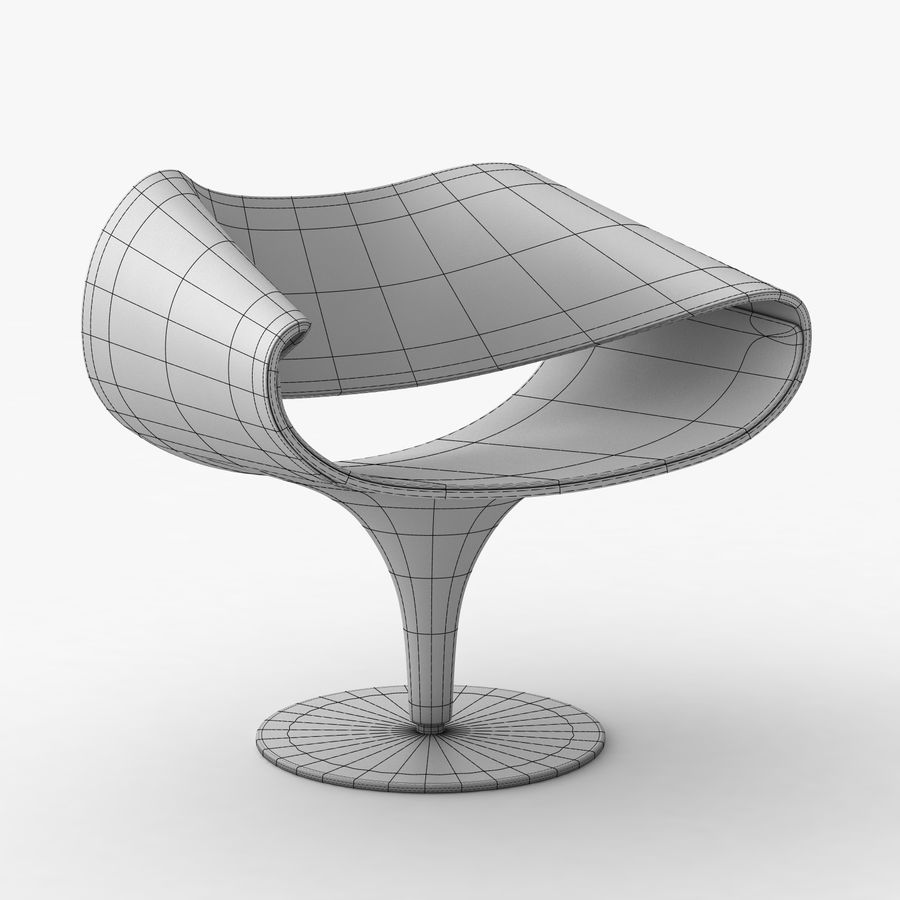 Fantastic Perillo Swivel Chair 3D Model 19 Max Obj Free3D Gmtry Best Dining Table And Chair Ideas Images Gmtryco