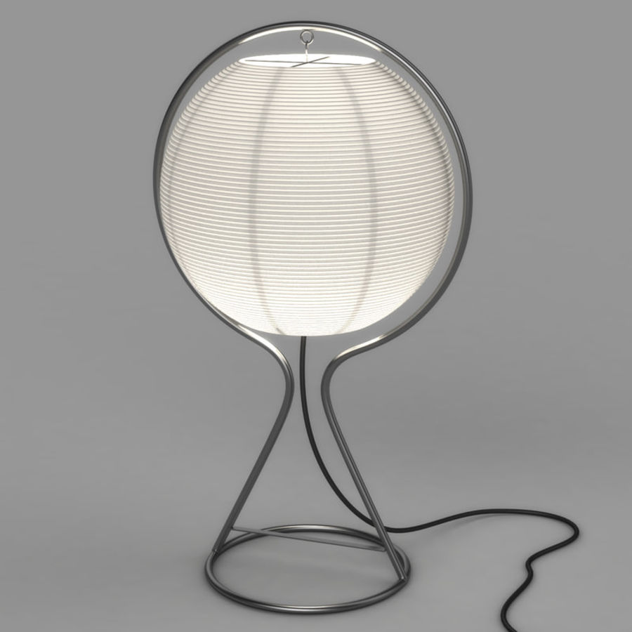 Vate Table Lamp by IKEA royalty-free 3d model - Preview no. 1