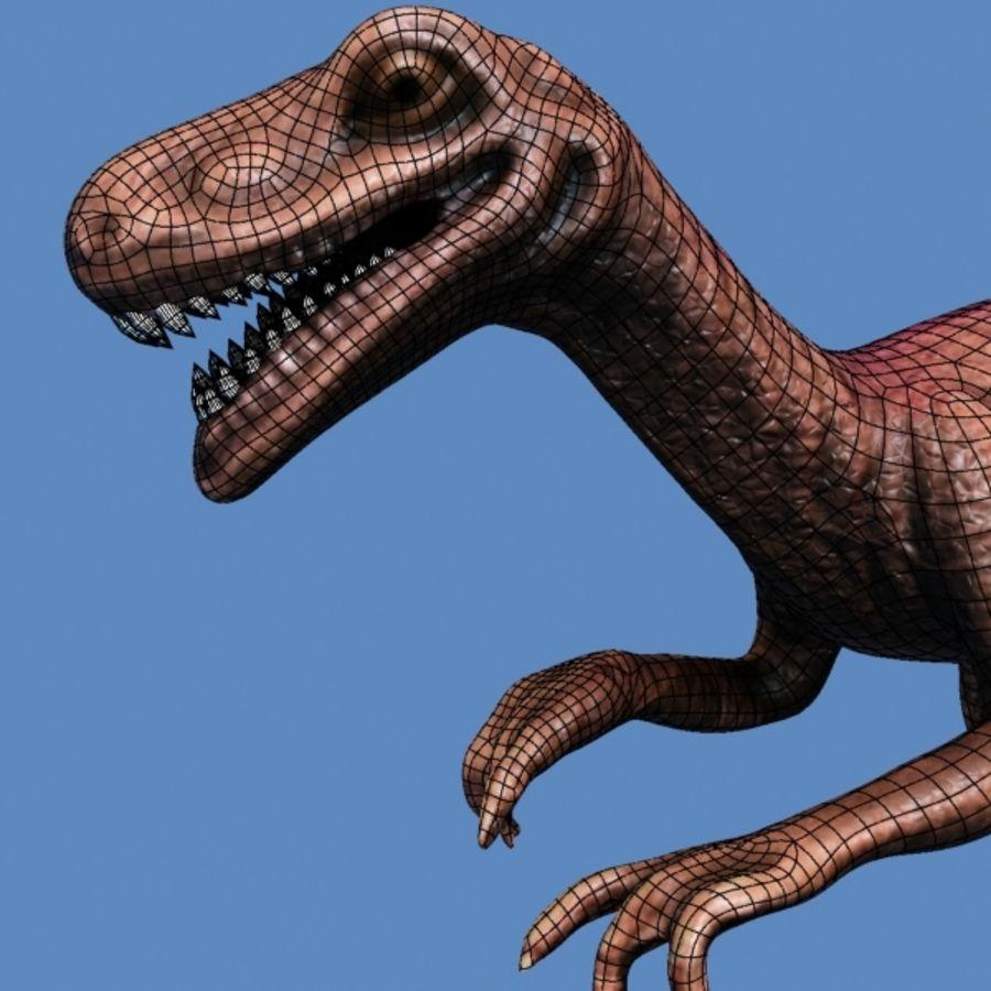 Velociraptor royalty-free modelo 3d - Preview no. 7