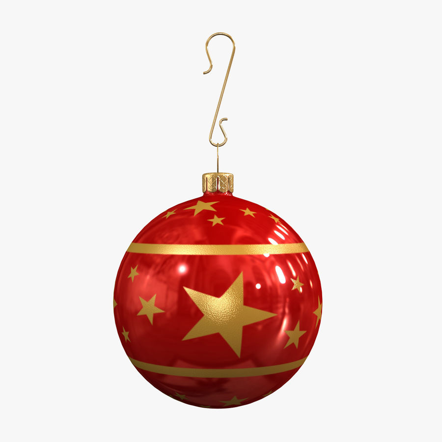 Christmas Ball royalty-free 3d model - Preview no. 1