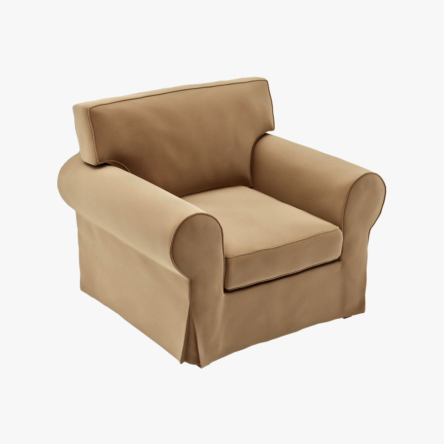 IKEA EKTORP Armchair Royalty Free 3d Model   Preview No. 1
