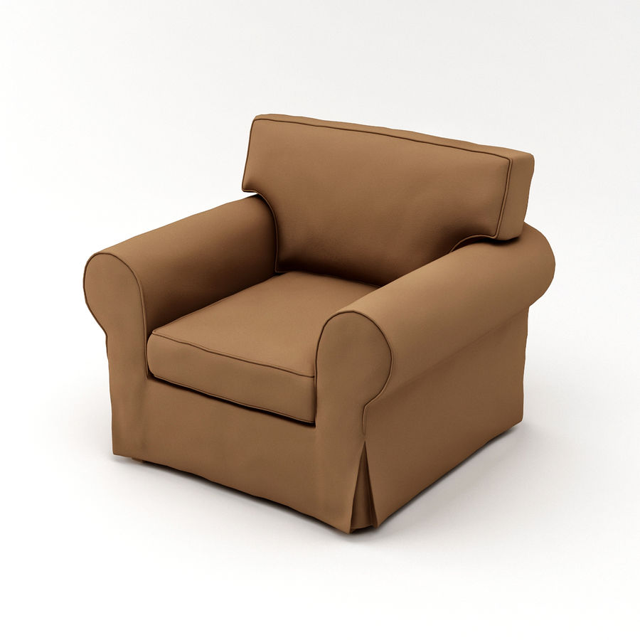 IKEA EKTORP Armchair Royalty Free 3d Model   Preview No. 5