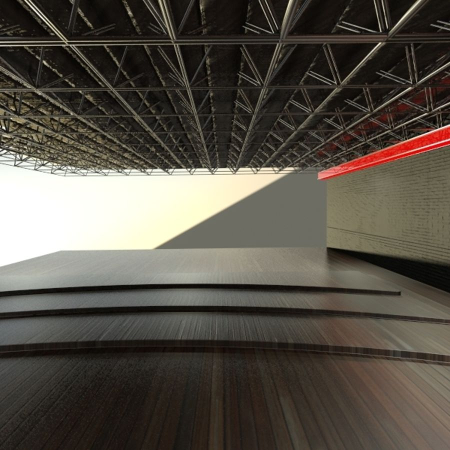 Ceiling Structure - Pipes 3D Model $20 -  max - Free3D