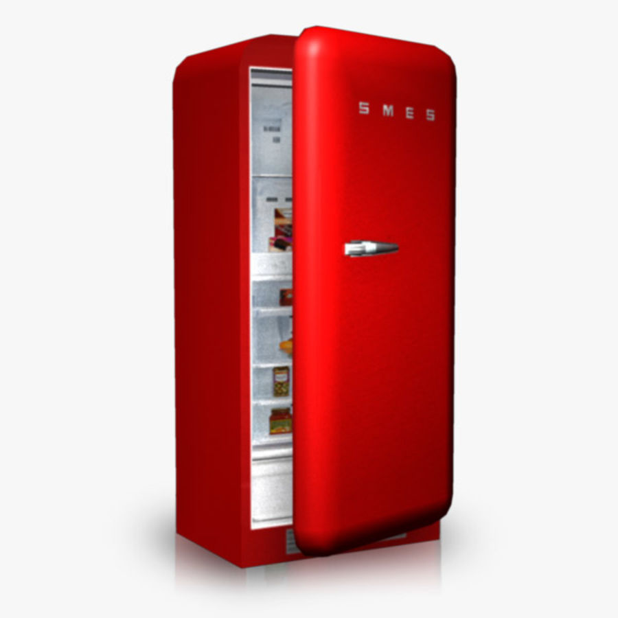 Refrigerator royalty-free 3d model - Preview no. 1