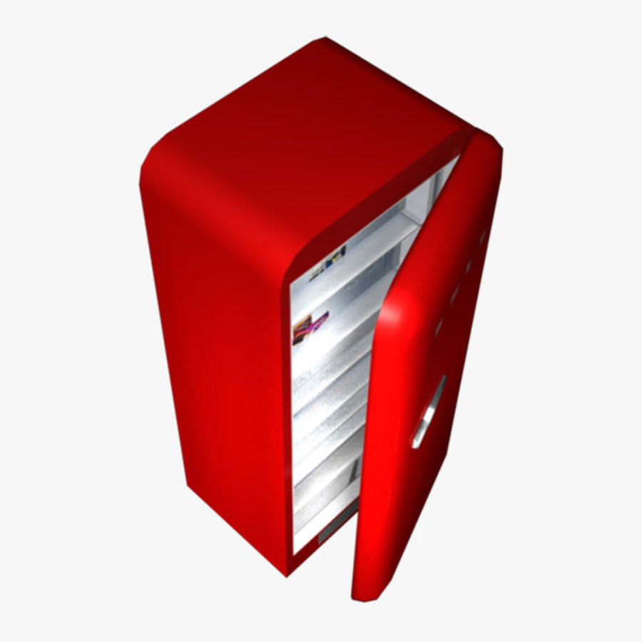 Refrigerator royalty-free 3d model - Preview no. 5