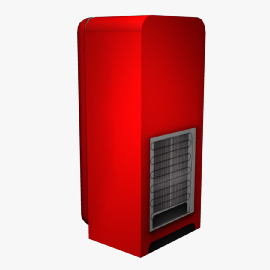 Refrigerator royalty-free 3d model - Preview no. 4