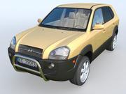 Hyundai Tucson 3d model