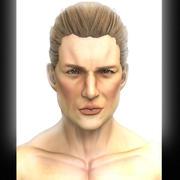 Джон 3d model