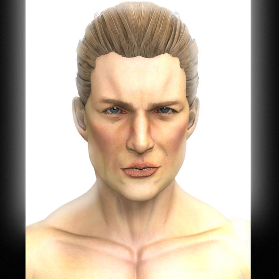 John royalty-free 3d model - Preview no. 1
