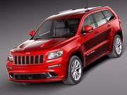 Jeep Grand Cherokee SRT8 2012 3d model
