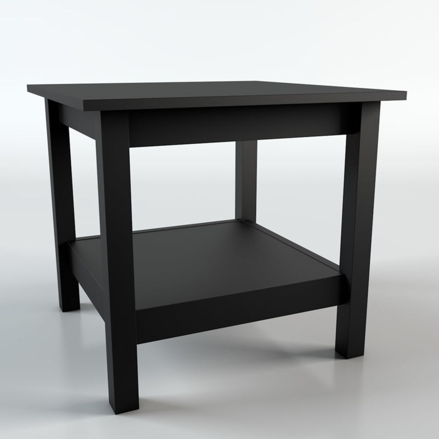 Stolik Ikea Hemnes royalty-free 3d model - Preview no. 1