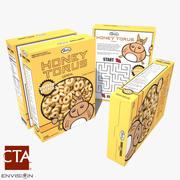 Cereal Box 3 3d model
