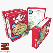 Cereal Box 4 3d model