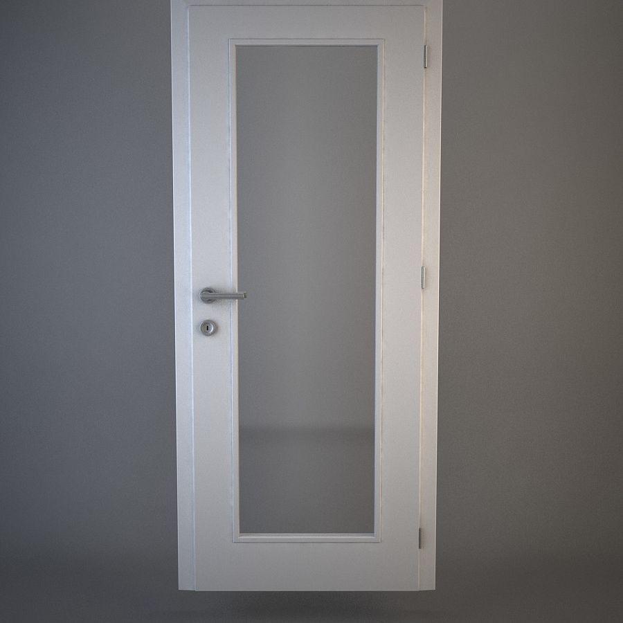 Door 04 royalty-free 3d model - Preview no. 1