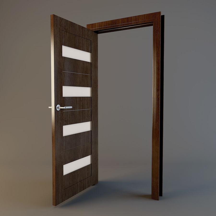Door(03) royalty-free 3d model - Preview no. 5
