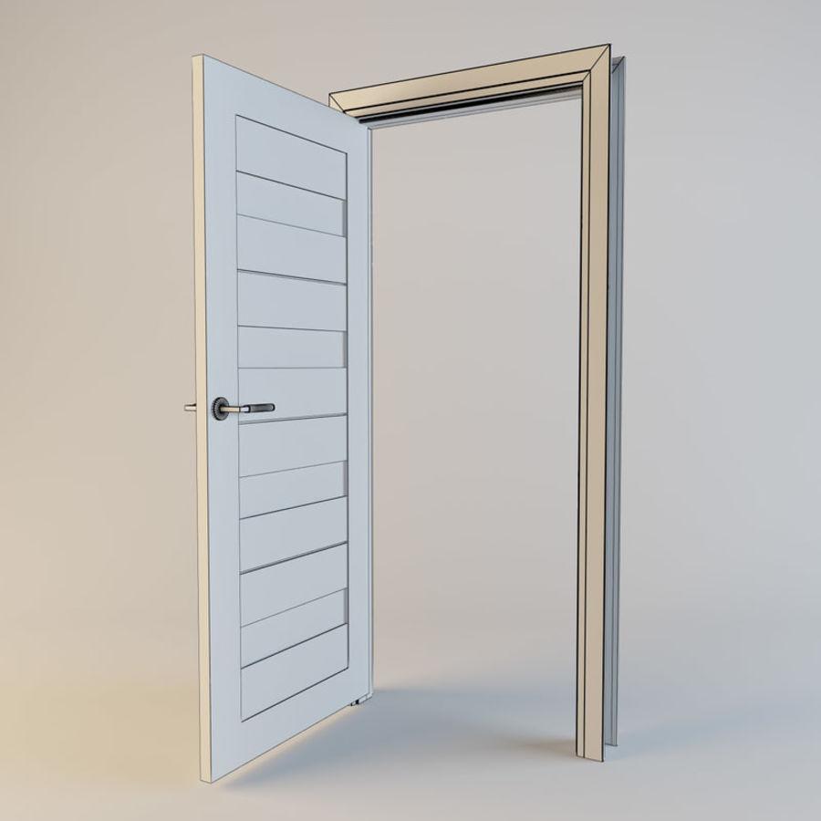 Door(03) royalty-free 3d model - Preview no. 6
