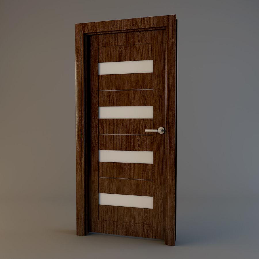 Door(03) royalty-free 3d model - Preview no. 1