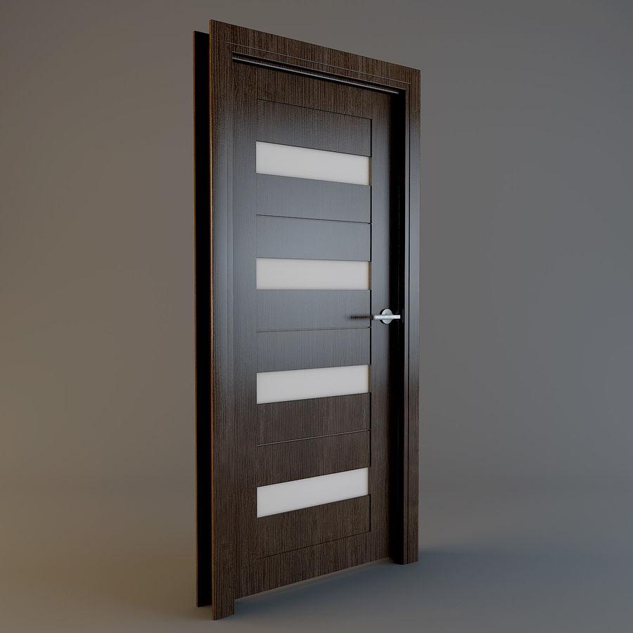Door(03) royalty-free 3d model - Preview no. 3