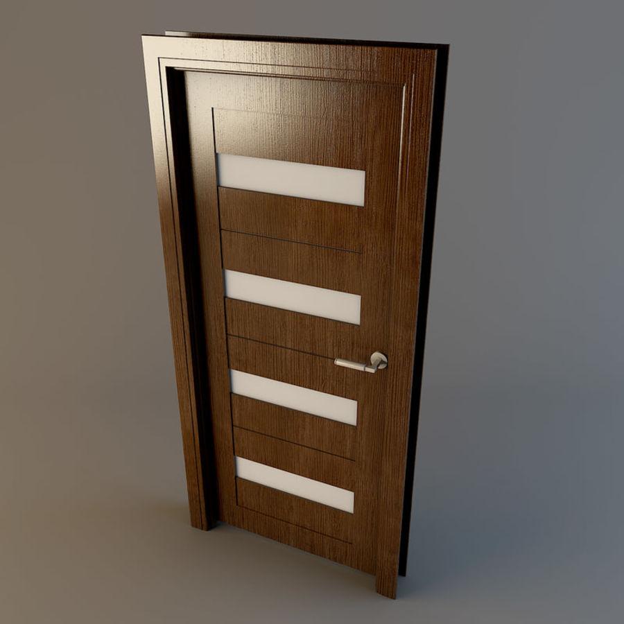 Door(03) royalty-free 3d model - Preview no. 4