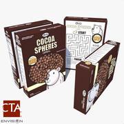 Cereal Box 2 3d model