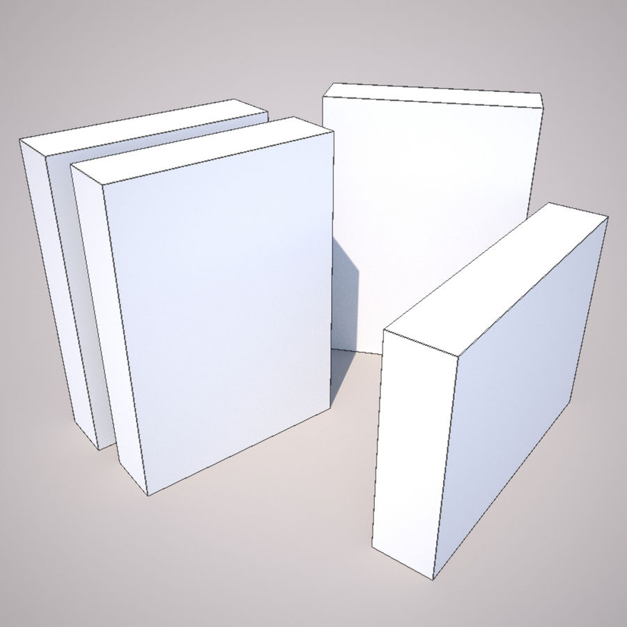 Cereal Box 2 royalty-free 3d model - Preview no. 2