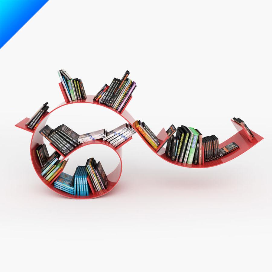 Ron Arad Bookworm Short royalty-free 3d model - Preview no. 1