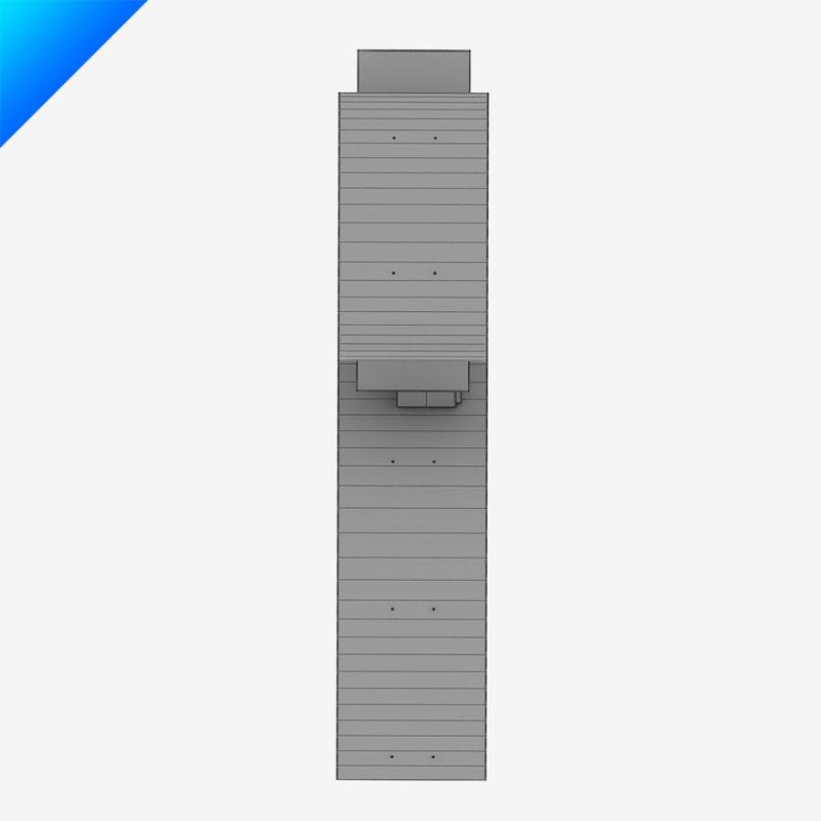Ron Arad Bookworm Short royalty-free 3d model - Preview no. 8