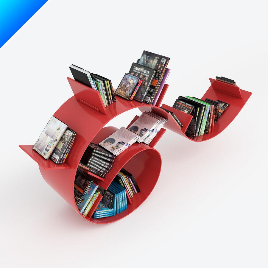 Ron Arad Bookworm Short royalty-free 3d model - Preview no. 2