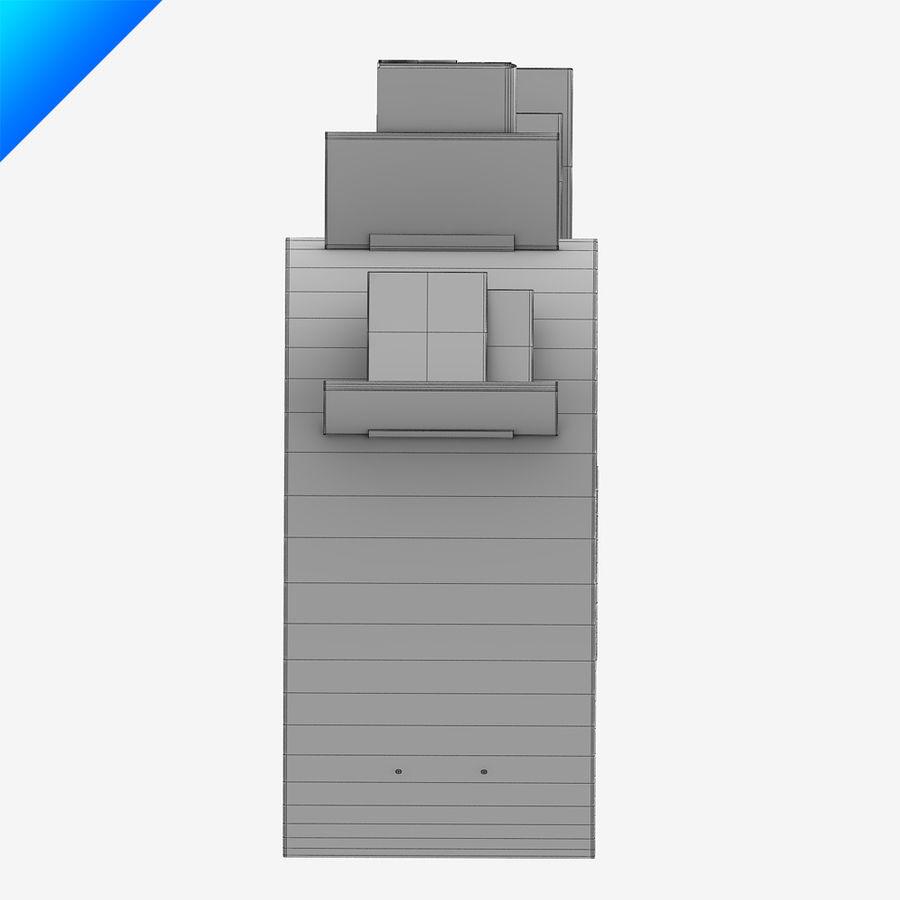 Ron Arad Bookworm Short royalty-free 3d model - Preview no. 7
