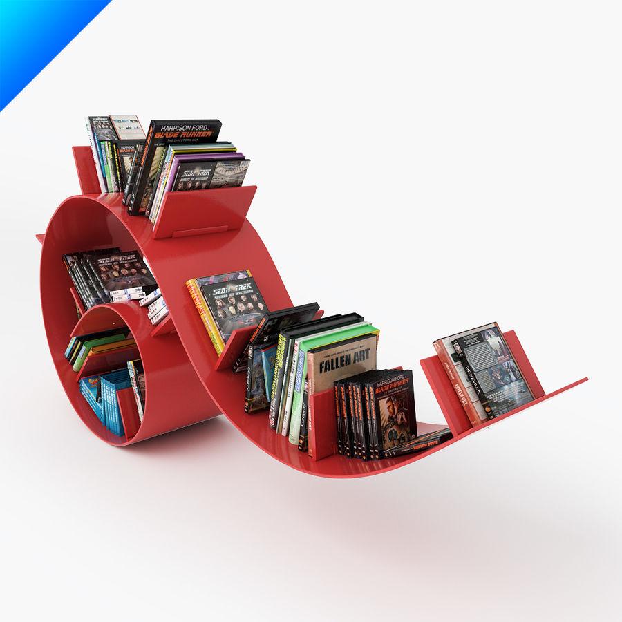 Ron Arad Bookworm Short royalty-free 3d model - Preview no. 3