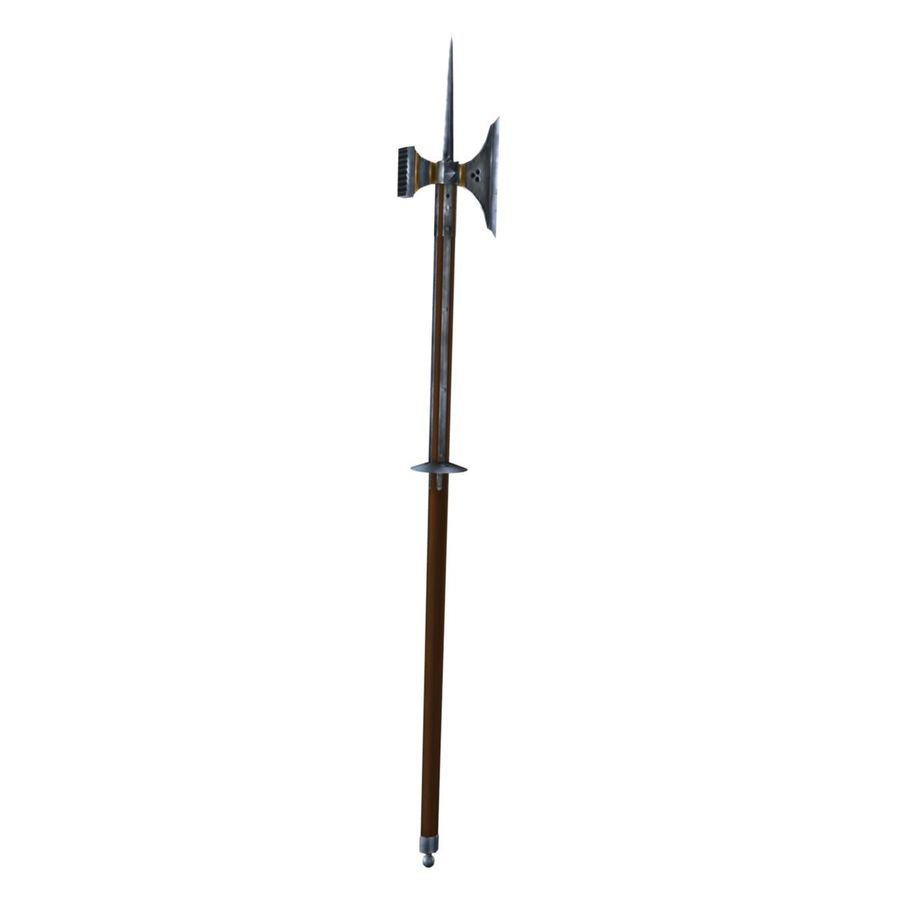Long_Axe royalty-free 3d model - Preview no. 4