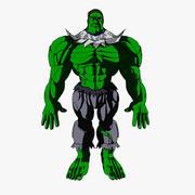 Toon Ogre 3d model