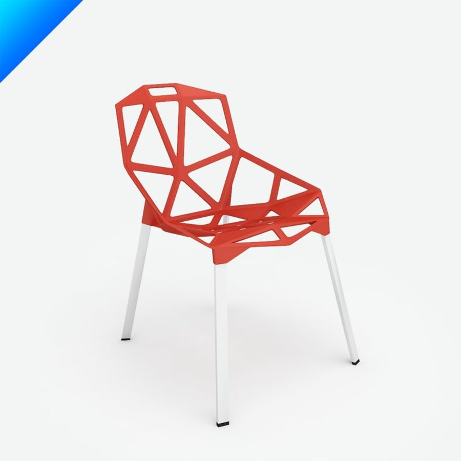 Konstantin Grcic Chair One Stacking 3d Model 25 Obj