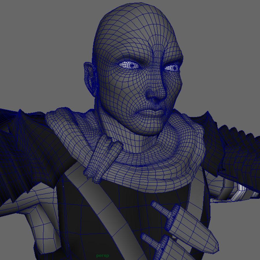 Berserk ( Guts ) royalty-free 3d model - Preview no. 6