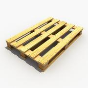 Wood Pallet 2 3d model