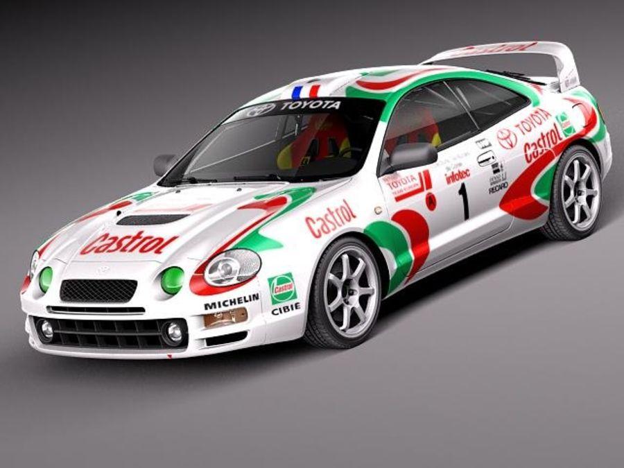 Toyota Celica GT-Four Castrol Rally 3D Model $99 - .obj .max .lwo ...