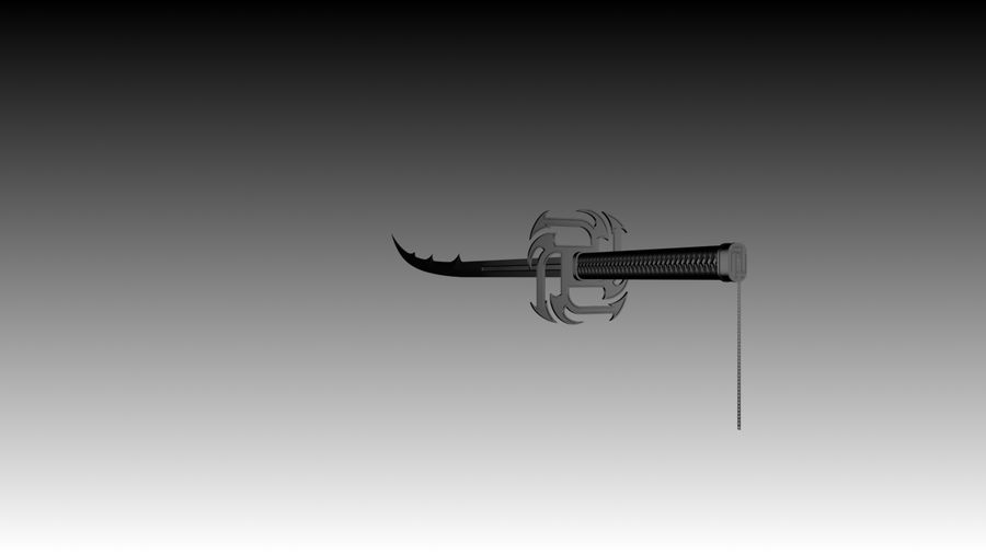 Bleach - New Design Soul Reaper Bankai sword 3D Model $10 ...