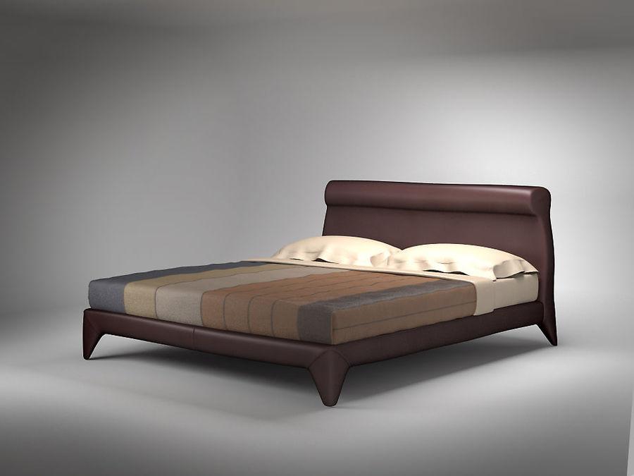 Bed 3d model 10 obj fbx 3ds max free3d for 3ds max bed model