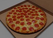 Pizza v2.0 3d model