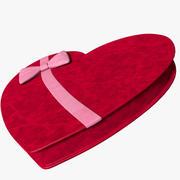 Caixa do coração 3d model
