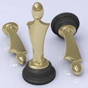 Trofee Figuur 3d model