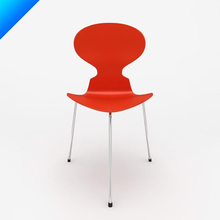 Arne Jacobsen 3 Leg Ant Chair 3d Model