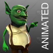 Cartoon Orc 3d model
